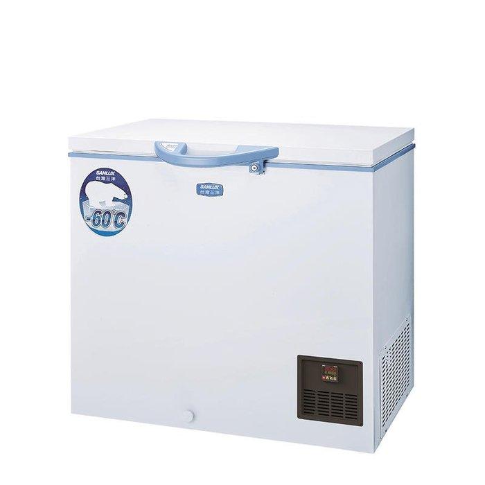SANLUX 台灣三洋 170L 上掀式 超低溫 -60°C 冷凍櫃 TFS-170G $51600