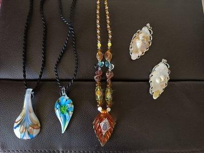 玻璃珠貝項鍊