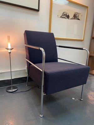 型格藍色單椅 Blue Chair