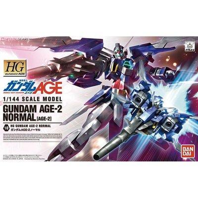 地球聯邦 - BANDAI HG 1/144 AGE-2 基本型 Gundam AGE-2 Normal