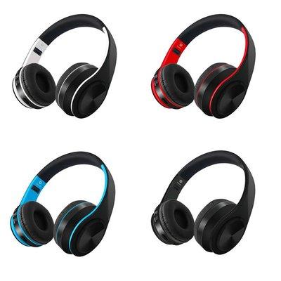 藍牙耳機 無線藍牙插卡運動折疊耳機 頭...