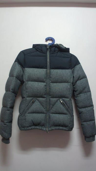 EDEN PARK 羽絨外套 羊毛材質 腰身 XS