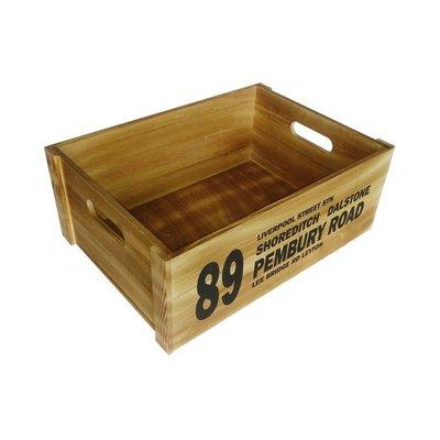 Coca松木箱 小28X18X11公分