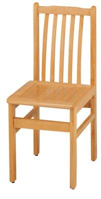 【南洋風休閒傢俱】餐廳家具系列- 排骨椅 實木用餐椅 書桌椅 (金623-2)