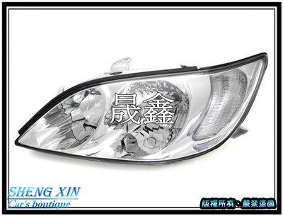 《晟鑫》全新 TOYOTA CAMRY 晶鑽 原廠型 大燈 02 03年 冠美麗 5代 豐田 頭燈 單顆價格