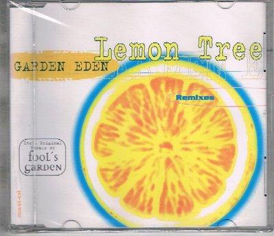 [鑫隆音樂]西洋單曲-GARDEN EDEN : Lemon Tree {724387845022}/全新/免競標