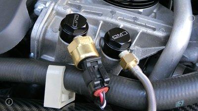 ☆光速改裝精品☆BMW F30 F20 N55 M235 M3 M4 機油轉接座  油溫 油壓