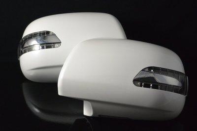 金強車業 TOYOTA豐田  HIACE 2004-ON 雙功能後視鏡+殼附照地燈 方向燈 小燈 直送價 (黑202)