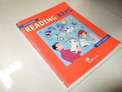 古集二手書f ~Extending Reading Keys 無光碟 033397462X