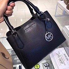 【Michael Kors】35F9SKFS1L Satchel Crossbody Bag 手提包 側背包 (黑色)