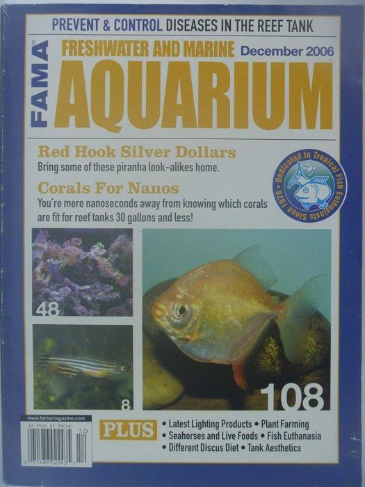 【月界】Freshwater and Marine Aquarium Magazine-2006/12 〖寵物〗CES