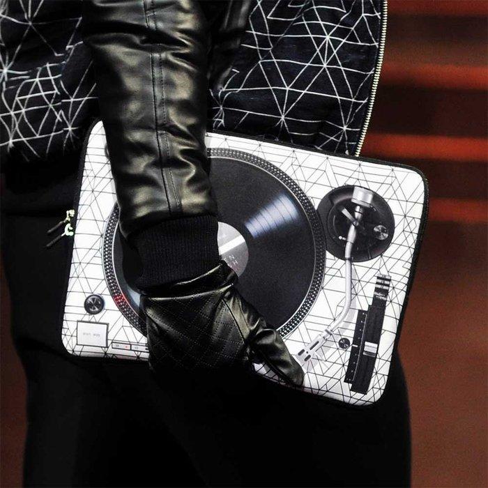 HeadphoneDog x 7crash 時尚唱盤筆電袋_紐約時裝秀款 [活動限時8折]