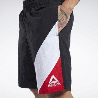 FOCA Reebok UFC 終極格鬥 黑色 紅白 健身 訓練 拳擊 格鬥 短褲 運動短褲 運動褲 FJ5191