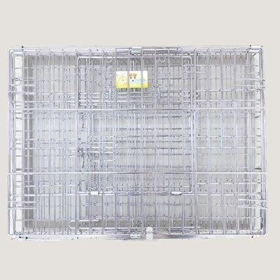 狗籠 不鏽鋼寵物鐵籠子-可折疊不生鏽堅固耐用寵物用品(2.5/3呎 )72ao31[獨家進口][米蘭精品]