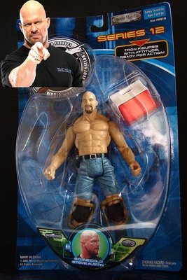 2001 美職摔角 WWF SERIES 12 STONE COLD STEVE AUSTIN 史蒂夫 奧斯汀