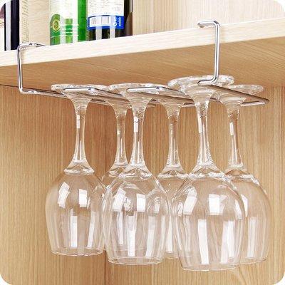 紅酒杯水杯收納掛架放玻璃杯的架子家用創意杯子瀝水杯架 #0340