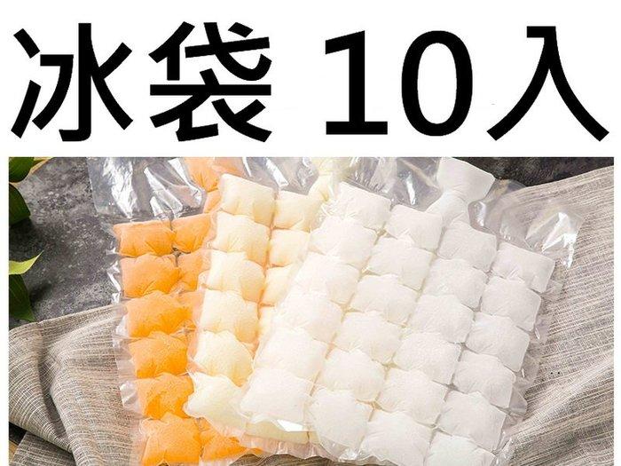 買10送1 DIY冰袋 冰塊模具 冰袋 冰格 一次性封口製冰袋 環寶製冰袋 自封口冰塊模具 24格 10入