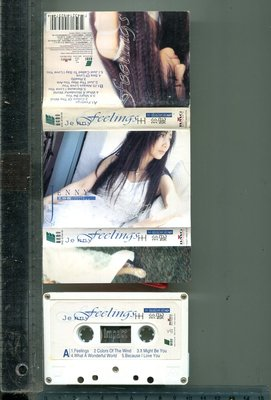 JENNY 王珍妮  (FEELINGS)  BMG唱片 二手錄音帶