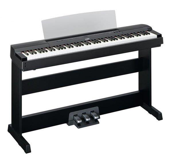 造韻樂器音響- JU-MUSIC - 全新 YAMAHA P-255 P255 BK 黑色 日本原裝 電鋼琴 數位鋼琴 另有 KAWAI CASIO