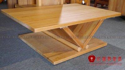 [紅蘋果傢俱] L229 全實木系列 茶几 桌子 長茶几 數千坪展示