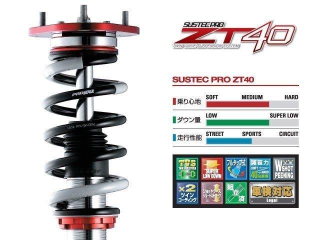 日本 Tanabe Sustec Pro ZT40 避震器 Toyota 豐田 Alphard 15+ 專用