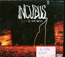 *愛樂二館* INCUBUS / ALIVE AT RED ROCKS 二手 K1384 CD+DVD (殼破)