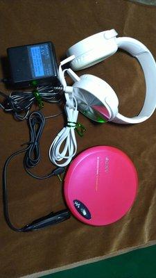 SONY.D-EJ-775.CD.WALKMAN.CD隨身聽.付SONY大型耳機.....美品....