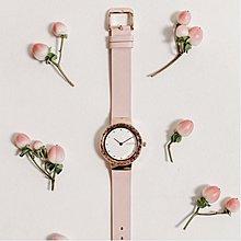 現貨正品-三色入-美國紐約RumbaTime手錶-Santa Monica聖莫尼卡寶石切面腕錶 兩種錶帶可選 玫瑰金 女錶 日系