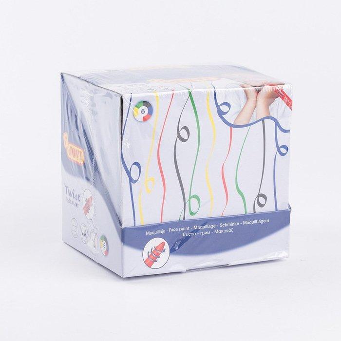 〖洋碼頭〗西班牙原產進口兒童繪畫工具JOVI扭轉型兒童彩繪化妝筆色彩筆 L2875