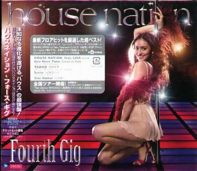 K - House Nation - Forth Gig - 日版 - NEW