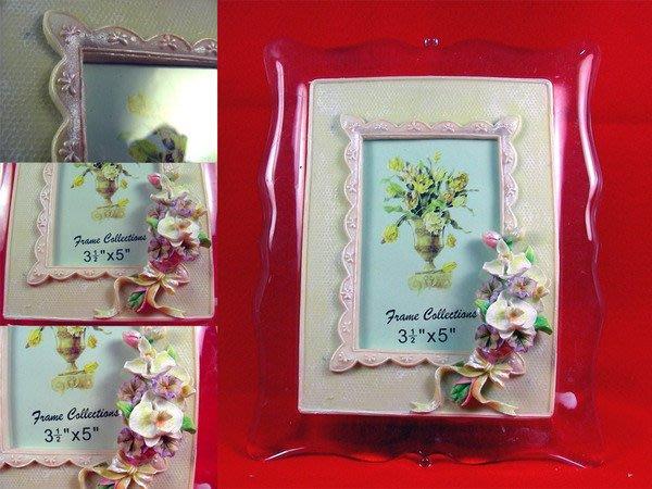 【V2 藝術精品館】進口 歐式立體雕花 相框 ( PH8005YD   蝴蝶蘭 )~ 全新品,促銷價!! ~