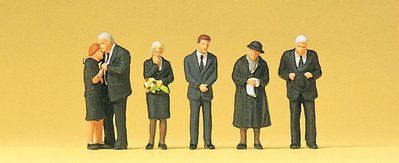 傑仲 (有發票) 博蘭 公司貨 Preiser 人物組 Funeral 10521 HO