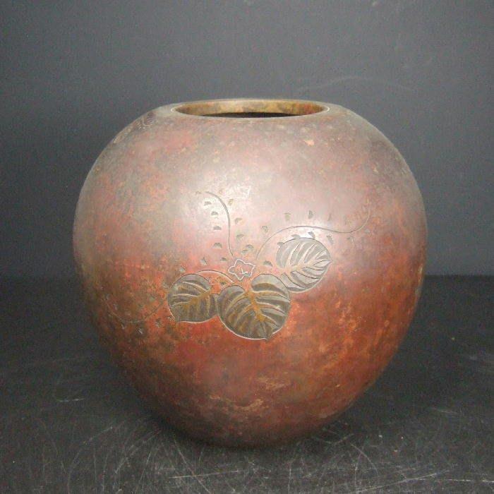 阿國的收藏˙˙古董˙銅罐
