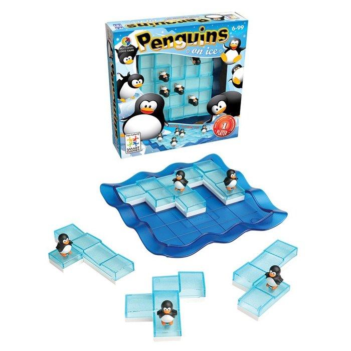 *小貝比的家*SMART GAMES 冰上企鵝大挑戰