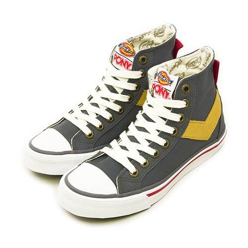 利卡夢鞋園–PONY 經典帆布鞋--Shooter x Dickies 聯名款--灰棕--43U1SH62KG--女