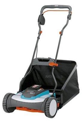 *艸衫居* 德國 Gardena 鋰電池 電動輔助 38公分 滾輪式 剪草機 剪草器  中大型草坪 庭園-4025