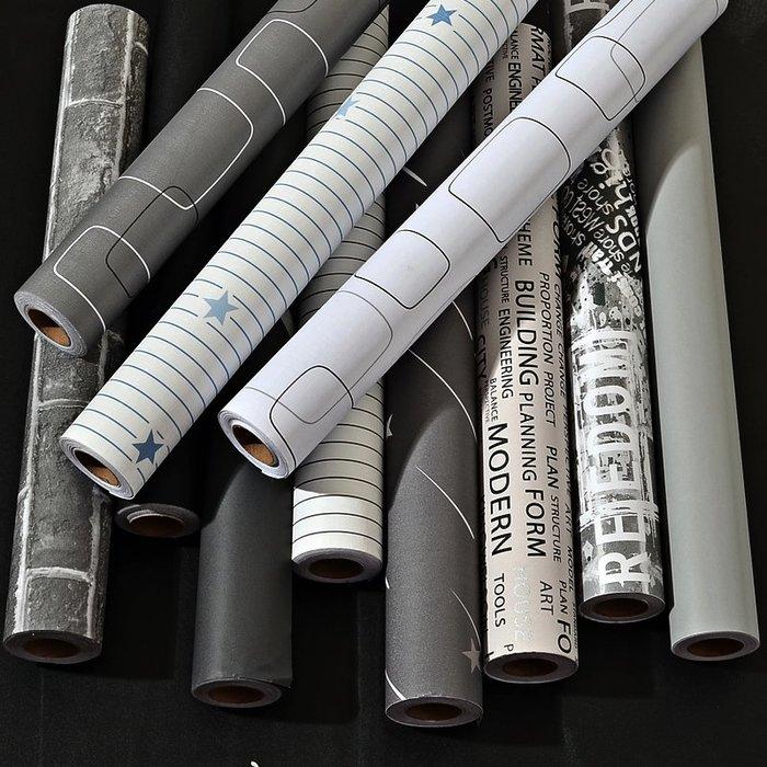 SX千貨鋪-墻紙自粘臥室溫馨宿舍寢室裝飾書桌面柜子壁紙防水防潮可擦洗貼紙