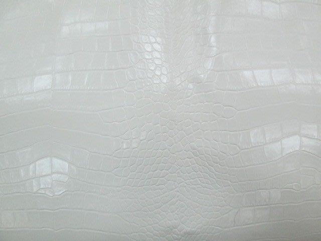 七三式精品公社之乳白色蛇紋PVC皮革(抱枕.裝飾.裝潢.居家擺設.擺攤)
