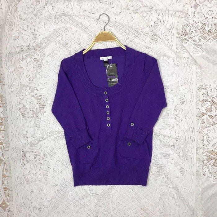 《MANGO》全新紫色上衣 秋冬美衣上架 詳閱敍述 實拍