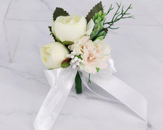 歐美婚禮小物婚禮殿堂水果叉 桌上禮 伴娘伴郎送客禮 活動禮贈品 二次進場 抽獎禮 謝客禮 伴手禮 胸花【G-622】胸花