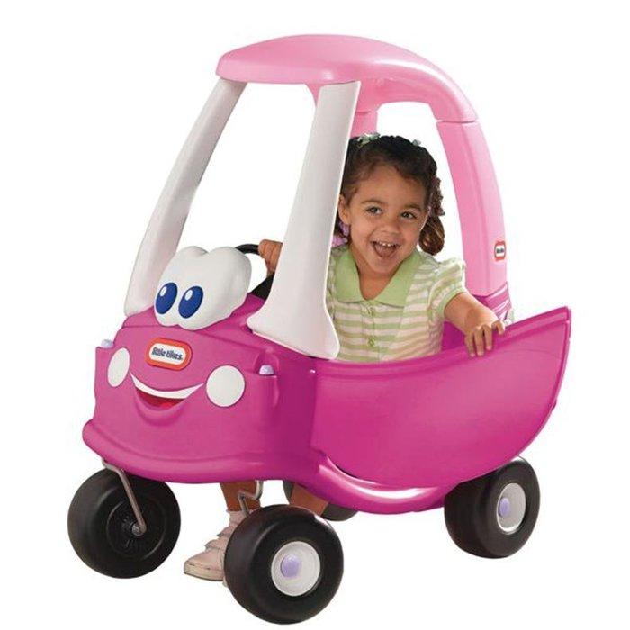感統家族購物網_美國品牌Little Tikes時尚跑車 - 桃紅....學步車/娃娃車/玩具卡車/滑步車