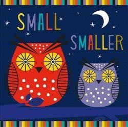 『Small, Smaller, Smallest』硬頁書