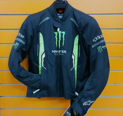 ※[元素重車裝備] ※義大利ALPINESTARS MONSTER RUSH TEXTILE 鬼爪 秋冬 防水 防摔衣