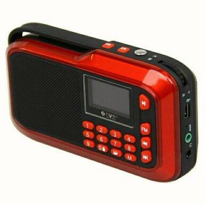 不見不散LV390便攜迷你音箱,MP3播放器,老人機,FM收音機,簡體中文歌名顯示