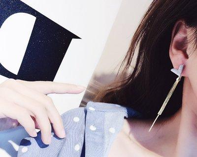 +(結帳後再享折扣)EOS 時尚精品  歐美時尚風經典奢華風2戴式耳環韓國/輕珠寶/新品飾品純銀鞋包服飾保養品平價項鍊