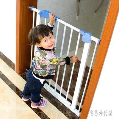 便捷簡易安裝樓梯口陽臺安全門欄寵物狗狗圍欄柵欄桿隔離門免打孔LXY2101