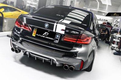 【政銓企業有限公司】BMW G30 G31 升級 F90 M5 P款1:1高品質 抽真空 卡夢 後下巴 免費安裝 現貨