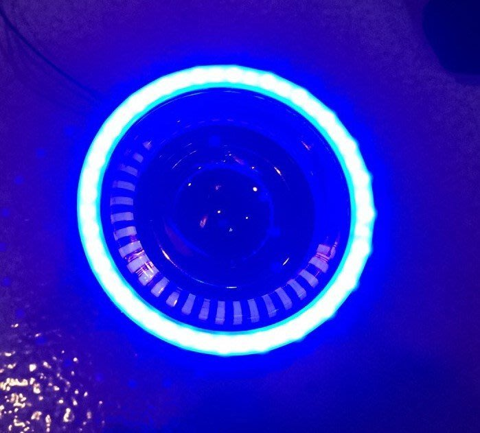 ◇光速LED精品◇ 通用型 H7 LED 霧燈光圈 LED光圈 顏色:藍色