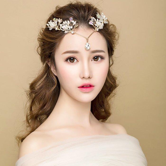 解憂zakka~ 新娘頭飾婚紗禮服配飾結婚禮手工巴洛克超仙2019新品額飾#頭飾#髮飾
