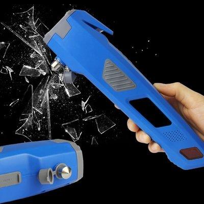 ☀無憂戶外☂汽車安全用品汽車安全錘6合1多功能消防救生錘手電筒 I570